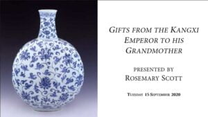 Gifts from the Kangxi Emperor to his Grandmother