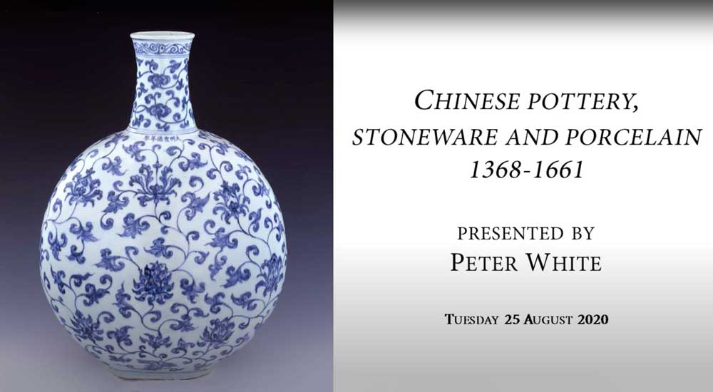 Chinese Pottery, Stoneware and Porcelain 1368-1661