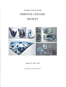 Transactions of The Oriental Ceramic Society 76