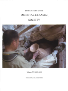 Transactions of The Oriental Ceramic Society 77