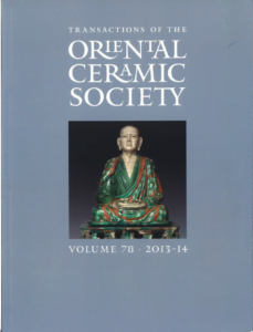 Transactions of The Oriental Ceramic Society 78