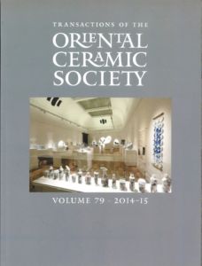 Transactions of The Oriental Ceramic Society 79