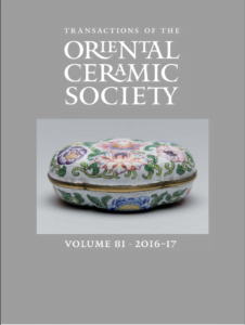 Transactions of The Oriental Ceramic Society 81