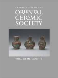 Transactions of The Oriental Ceramic Society 82