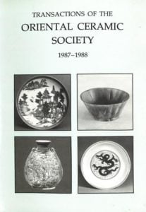 Transactions of The Oriental Ceramic Society 52