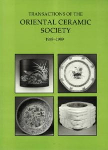 Transactions of The Oriental Ceramic Society 53