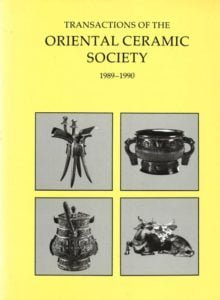 Transactions of The Oriental Ceramic Society 54