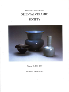 Transactions of The Oriental Ceramic Society 73