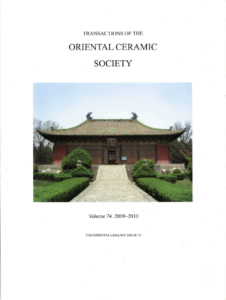 Transactions of The Oriental Ceramic Society 74