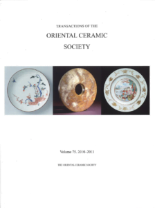 Transactions of The Oriental Ceramic Society 75