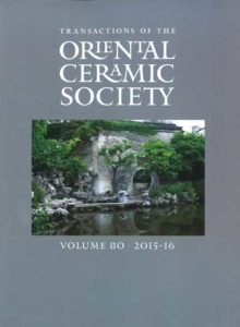Transactions of The Oriental Ceramic Society 80